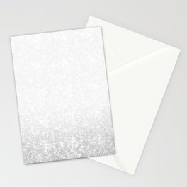 Gradient ornament Stationery Cards