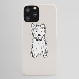 Milo the dog iPhone Case