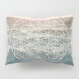 Mandala Flower of Life Sea Pillow Sham