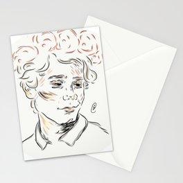 Isak flowers Stationery Cards