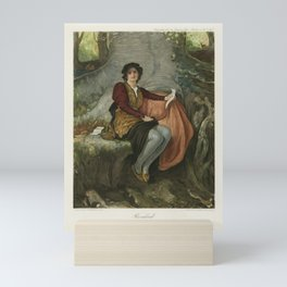 The Graphic Gallery of Shakespeare's Heroines (1896) - Rosalind, from As You Like It Mini Art Print