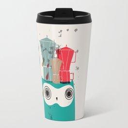 Owl Aloud Travel Mug
