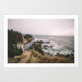 Oh, Oregon Art Print