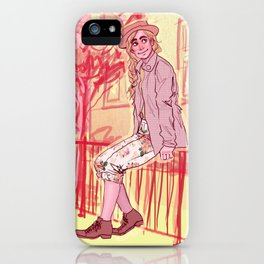 Jean Prouvaire iPhone Case