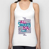 risa rodil Tank Tops featuring All Simplicity is a Lie by Risa Rodil