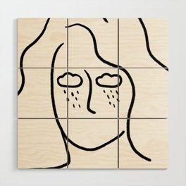 rainy soul Wood Wall Art