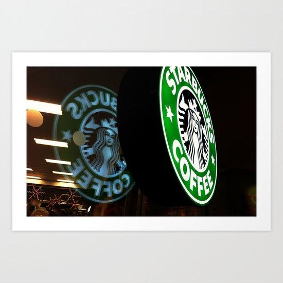 Coffee to Go? Art Print