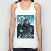 blade runner Tank Tops featuring Blade runner by David Amblard