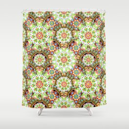 Carnival Mandala Shower Curtain