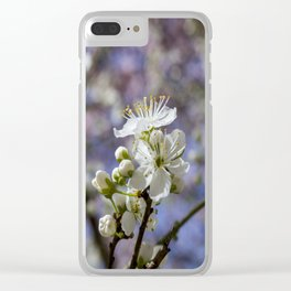 Cherry tree. Sakura. Clear iPhone Case