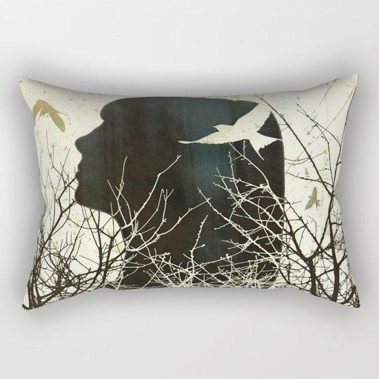 Fleeting Freedom Rectangular Pillow