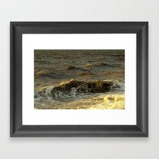 The Sea 1/2 Framed Art Print