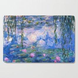 Water Lilies Monet Cutting Board