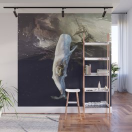 Jonah and the whale Wall Mural