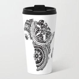 African Tribal Pattern No. 63 Travel Mug
