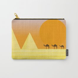 In the desert... Carry-All Pouch
