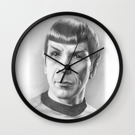 Spock - Fascinating (Star Trek TOS) Wall Clock