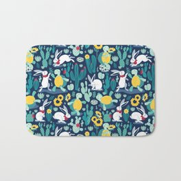 The tortoise and the hare Bath Mat