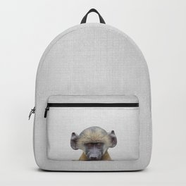 Baby Baboon - Colorful Backpack
