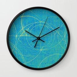 Aurea (Cyan Version) Wall Clock