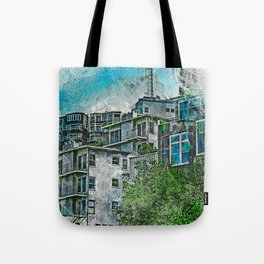TwinPeaks favelas 2020 Tote Bag