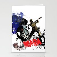 poland Stationery Cards featuring Poland Wara! by viva la revolucion