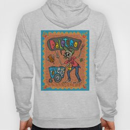 Day of the Dead PALETERO Sings with Angel Popsicles Hoody