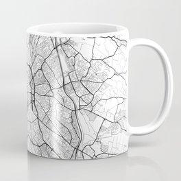 Toulouse Map Gray Coffee Mug