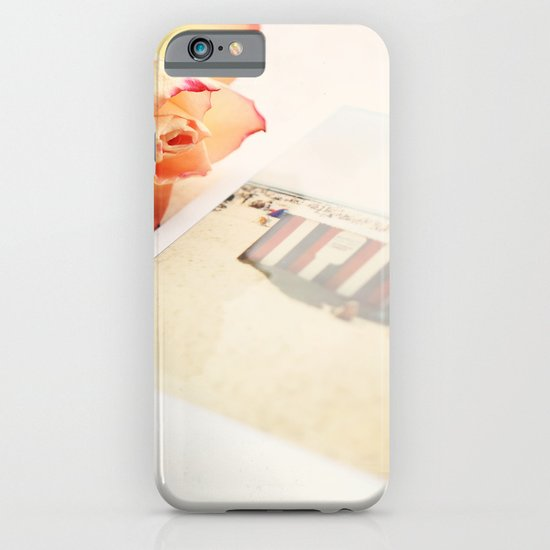Rose and Polaroids iPhone & iPod Case