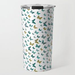 butterflies_yellow Travel Mug