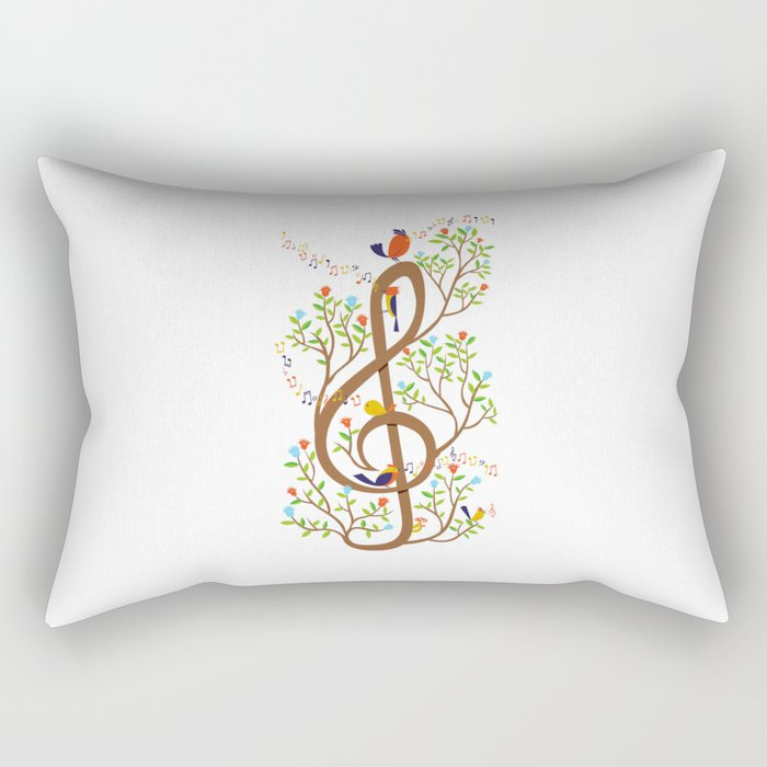 Song birds Rectangular Pillow