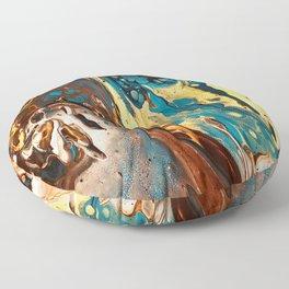 Earth Floor Pillow