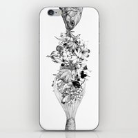 return iPhone & iPod Skins featuring Return by Sungwon
