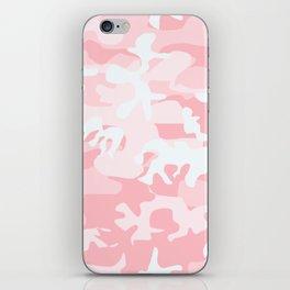 PINK CAMO iPhone Skin