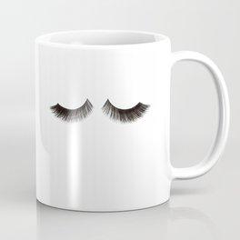 LASHES PRINT, Fashion Illustration,Fashionista,Lashes Wall Decor,Makeup Print,Makeup Bathroom Sign,P Coffee Mug