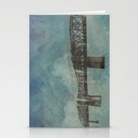 broadway Stationery Cards featuring Broadway Bridge by Chantel Greene