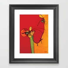 Dancer Spiders Framed Art Print
