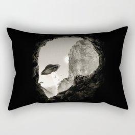 Alien´s Head Rectangular Pillow