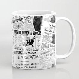 WOMEN'S SUFFRAGE Coffee Mug