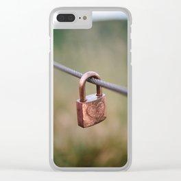 Love Lock // San Francisco, California Clear iPhone Case
