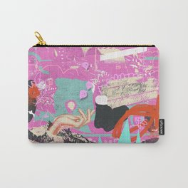 ABSTRACT MOUNTAINOUS Carry-All Pouch
