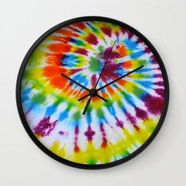 Tie Dye 008 Wall Clock