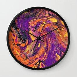 Artwork_072 - jessie.does.art Wall Clock