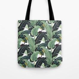 banana leaf pattern Tote Bag