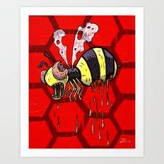 Zom Bee Art Print
