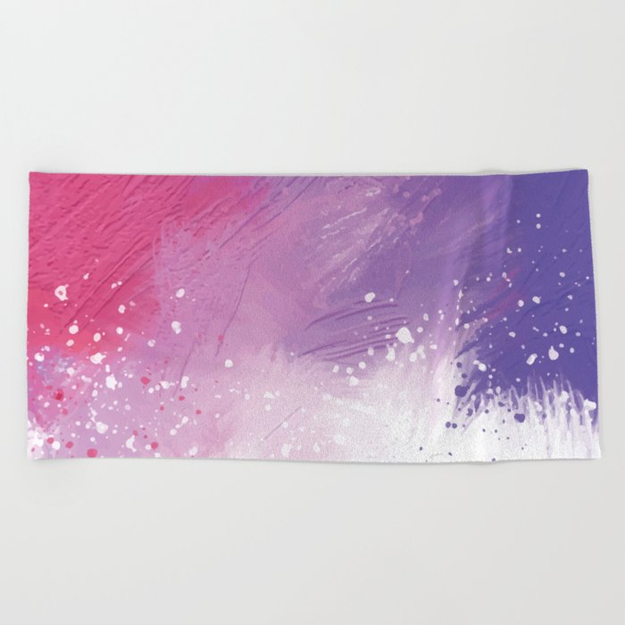 Paint Brushing Beach Towel