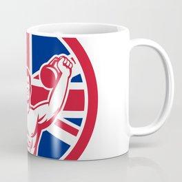British Physical Fitness Union Jack Flag Icon Coffee Mug