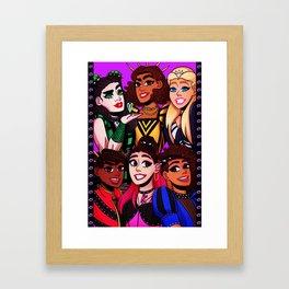 EXWIVES (1) Framed Art Print