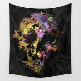 Spring Skull Wall Tapestry