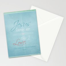 This I Love Stationery Cards